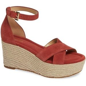 Michael Kors Desiree Wedges Size 9 NEW $130